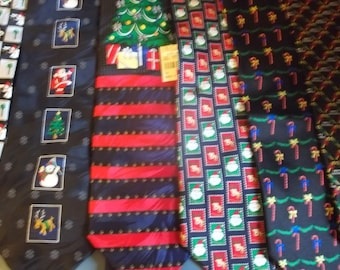 Christmas Men's Necktie