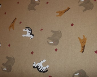Country Noah Nursery animal print fabric