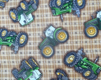 Tractor Time Print Fabric