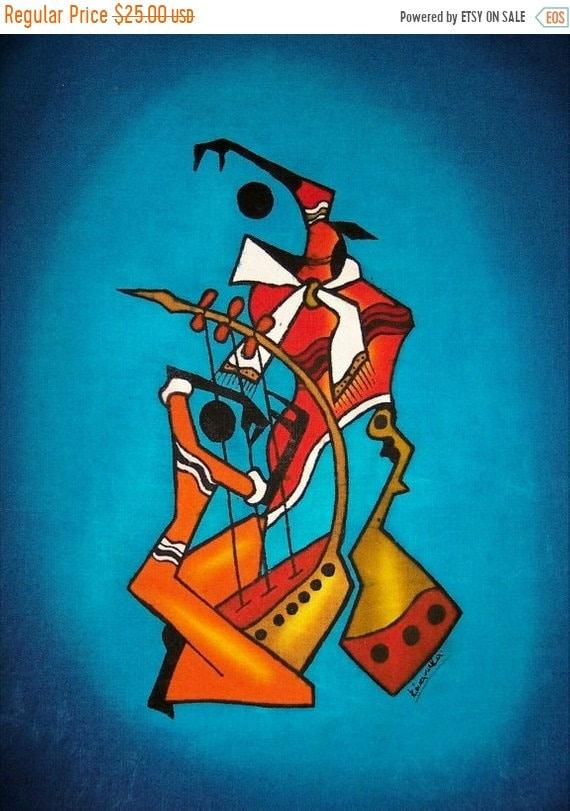 Massai Tänzer Batik Afrikanischen Batik Kenia Gefärbt Wachs | Etsy