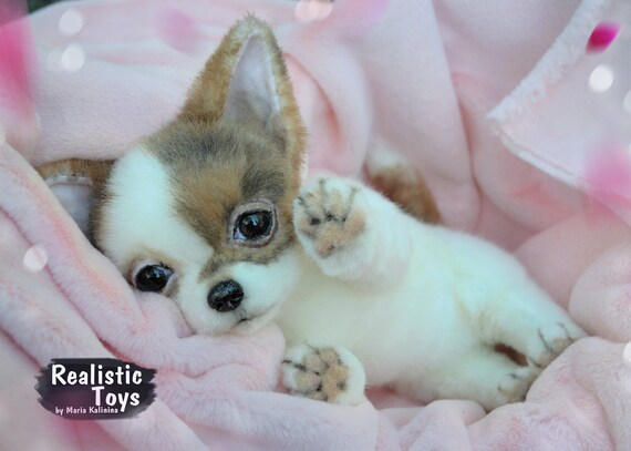 Chihuahua Puppy Realistic Life Size Replica Pet Portrait Etsy