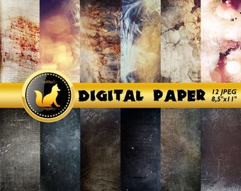 Distressed Abstract Paper,Abstract Scrapbook Paper,Abstract Background,Rainbow Abstract,paper,Rainbow Background,Chipped paint texture