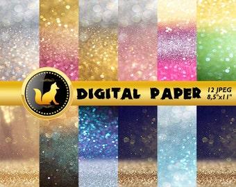 Rainbow Glitter Background,Glitter Digital Paper,Glitter Scrapbook Paper,Glitter Backdrop,digital paper,Glitter Background,scrapbook Glitter
