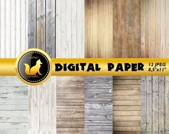 Boho Distressed Wood,Old Wood Background,Wood Scrapbook Paper,Rustic Wood Paper,Wood,Printable Wood Background,digital paper,scrapbook paper