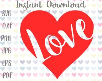 Valentine Svg Files For Cricut Svg Dxf Files Heart Svg Kids Etsy