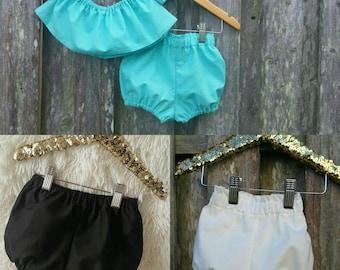 Basics, Bloomies, toddler bloomers, girl shorts
