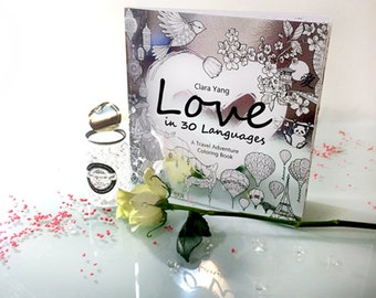 Love in 30 Languages Coloring Book