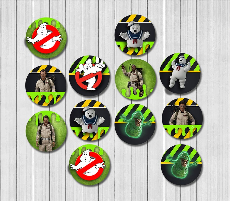 photo relating to Ghostbusters Printable titled Ghostbusters Printable Cupcake Topper, Ghostbusters Occasion Materials, Ghostbusters Cake Topper, Ghostbusters Birthday Celebration GHO__CUPCAKE1