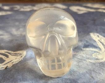 Milky Quartz Skull #6