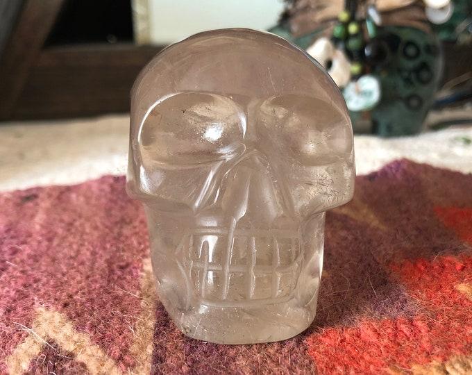 Sweet Brazilian Citrine Skull