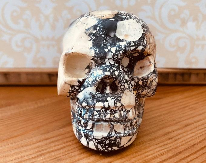 Maligano Jasper Skull #4