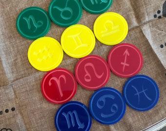 Zodiac Discs for SpellStation