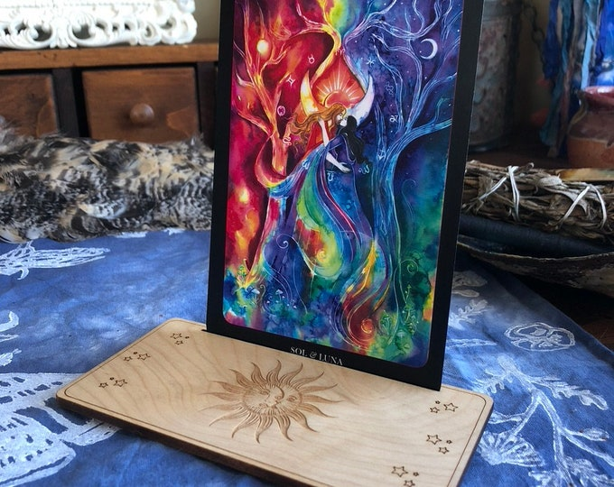 Stand, Tarot and Oracle Cards Set 2