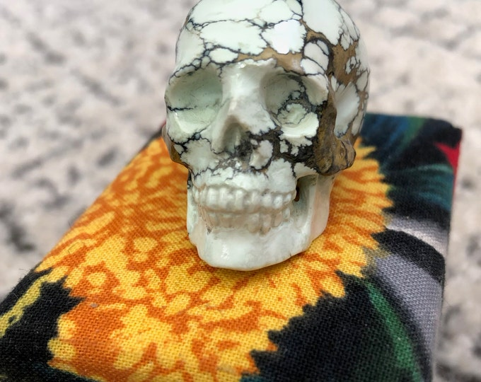New Lander Chalcosiderite Skull