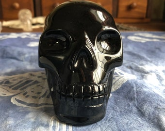 Walmere Obsidian Skull