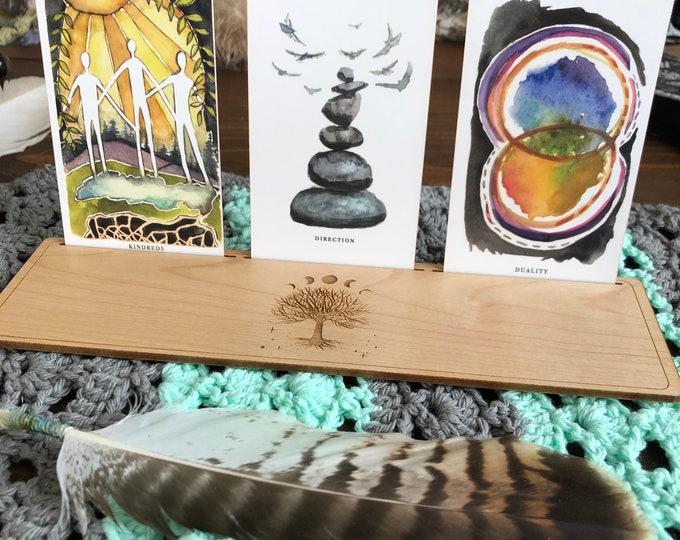 Card Stand, Tarot Card, Three Card Regular Size Set 1