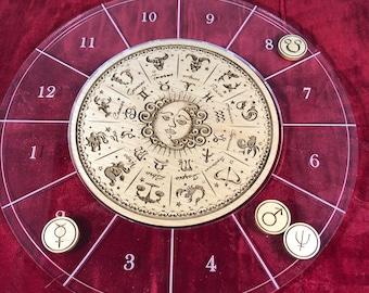 Astrological Natal Chart Set