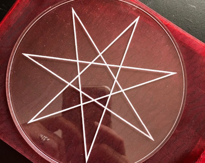 Seven Pointed Star Crystal Grid