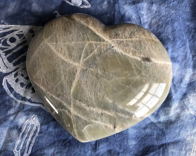 Large Garnierite Heart