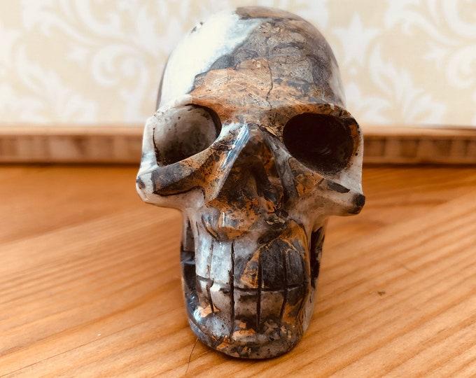 Maligano Jasper Skull #3