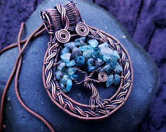 Tree of Life Wire Wrap Tutorial   How To Make A Beaded Wire Tree of Life Pendant Necklace   By Bobi Jo Gilman