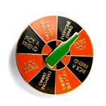 Drinking Game Spinner Enamel Pin