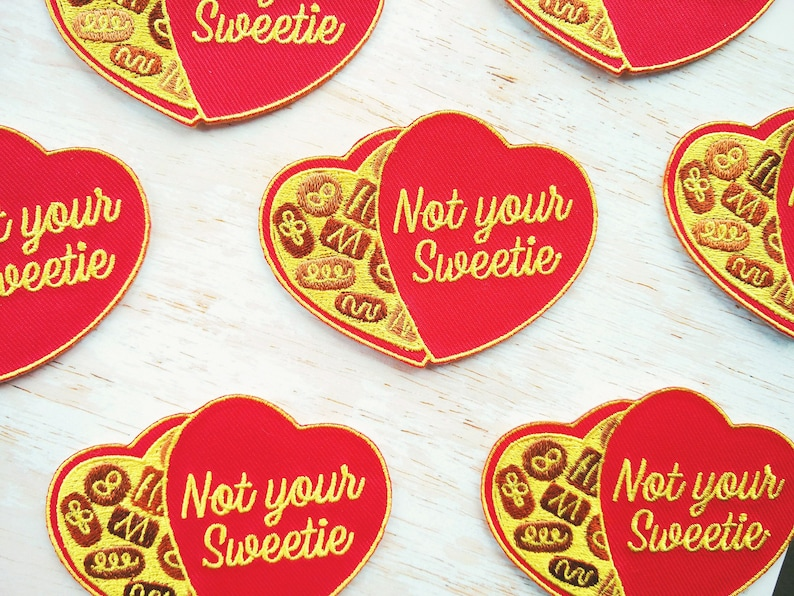 Not Your Sweetie Patch image 0