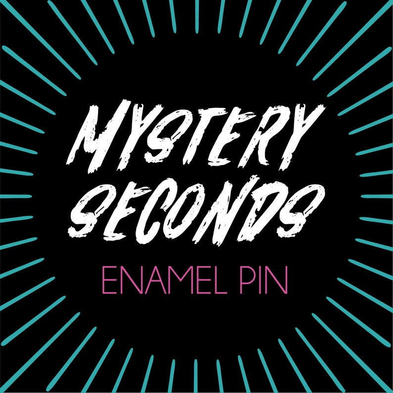 Mystery Seconds Enamel Pin Grab Bag Surprise image 0