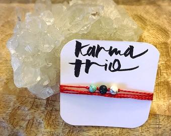 Blessed Karma Trio Bracelet - 1 quantity