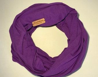 Purple Travel Tube Blanket, Travel Blanket