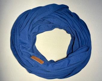 Travel Tube Blanket, Travel Blanket, Traveler Gift, Royal Blue