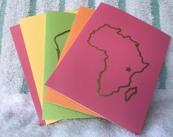 Conservation Station-ery  (Pack of Kenya-Themed Stationery)