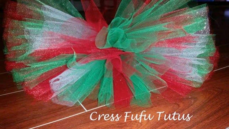 Toddler Glitter Christmas Tutu|Toddler Christmas Tutu|First Christmas|Glitter Christmas Tutu|Christmas Tutu|Baby Christmas Tutu
