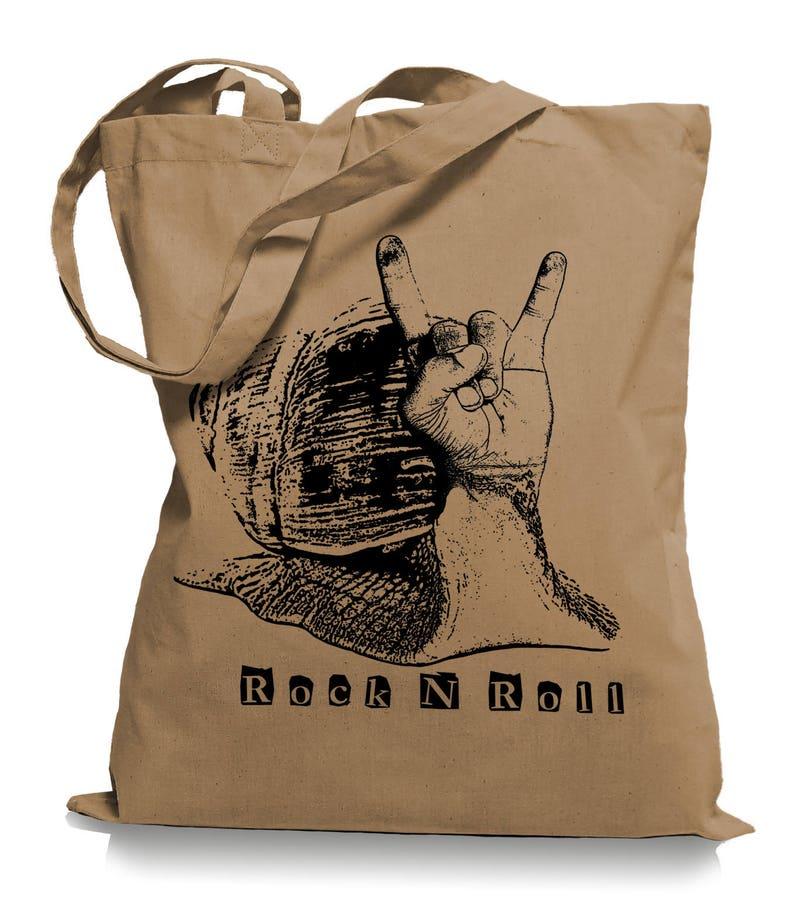 dbd90f6907 Rock N Roll slug jute bag hipster sports bag gym bags tote