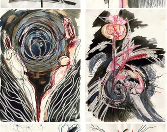 Demeter 6 paintings