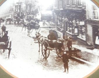 Bedminster Parade Vintage Photo, Victorian Photo, Bristol History, South Bristol Sepia Photo, Framed Photo, Birthday Gift