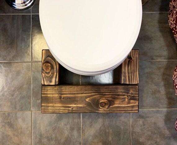 In legno squatty vasino toletta sgabello igienici etsy