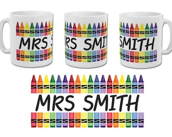 Personalised Teacher Gift Mug