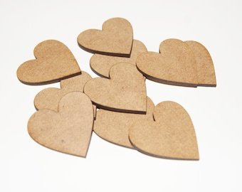 30mm Heart Shapes For Craft/Scrap-booking/Decoration