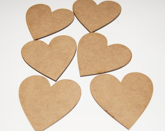 60mm Heart Shapes For Craft/Scrap-booking/Decoration