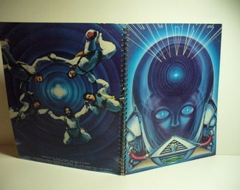 Journey Frontiers Record sleeve notebook recycled from one of your favourite album sleeves.