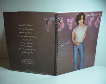John Cougar Mellencamp Uh-Huh Record sleeve notebook