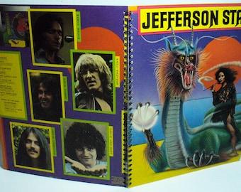 Jefferson Starship Spitfire Record sleeve notebook