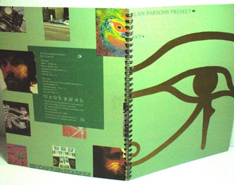 The Alan Parsons Project Eye in the Sky  Record sleeve notebook