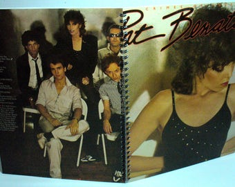 Pat Benatar Crimes of Passion Record sleeve notebook