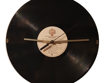 Rod Stewart Blondes Have More Fun record clock