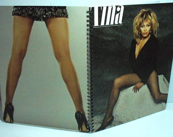 Tina Turner Private Dancer Record sleeve notebook