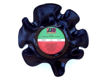 The Rose Movie Soundtrack Record bowl