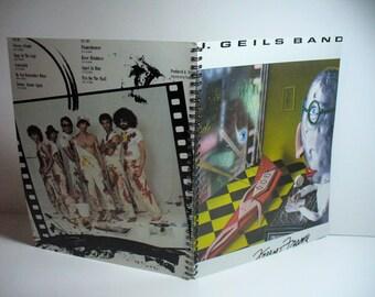 J. Geils Band Freeze Frame Record sleeve notebook
