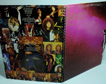 Queen Record sleeve notebook